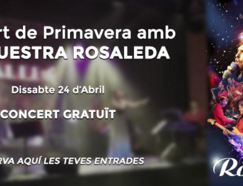 Concert amb l'Orquestra Rosaleda, al Centre d'Arts Escèniques (El Canal)