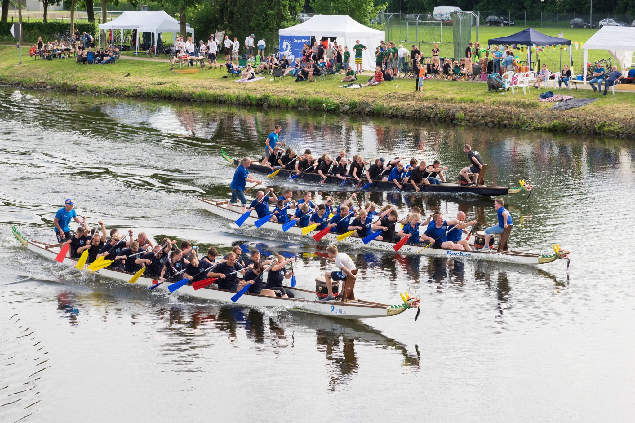 Lingener Drachenboot Cup, competició piraguisme
