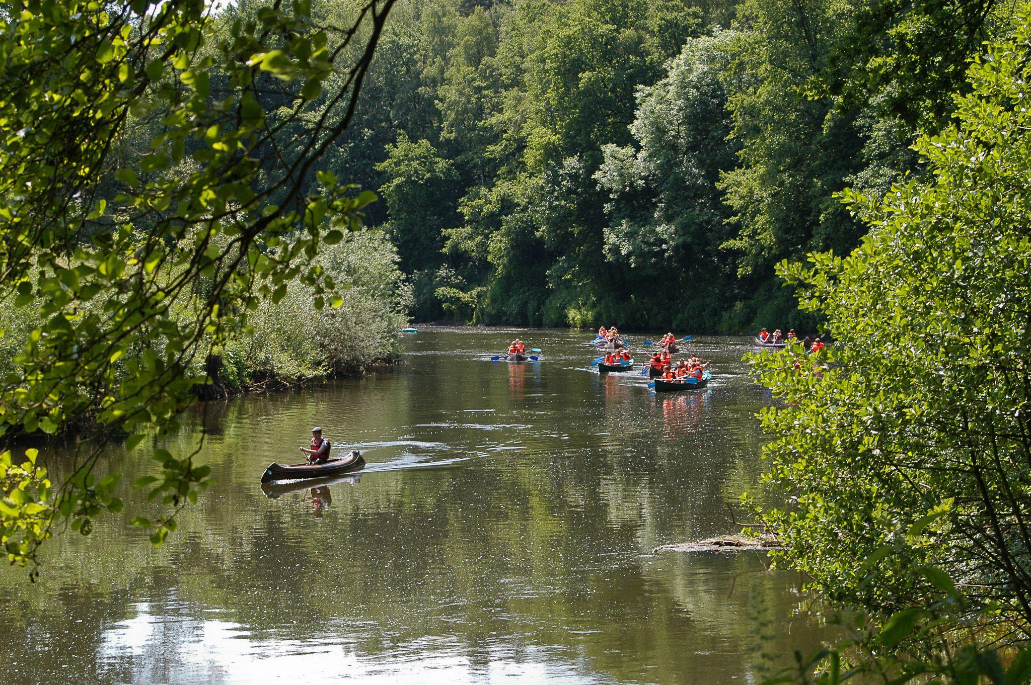 Descens en piragua pel riu