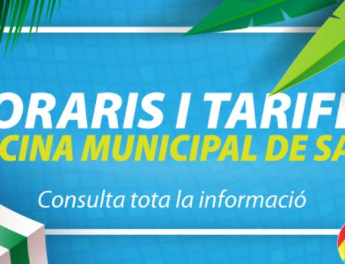Horaris i tarifes Piscina municipal de Salt