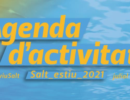 Agenda d'activitats Salt Estiu 2021 Juliol