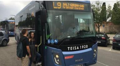 Autobús L9 Salt-Girona-UDG