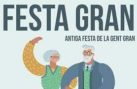 Banner Festa gran antiga festa de la gent gran