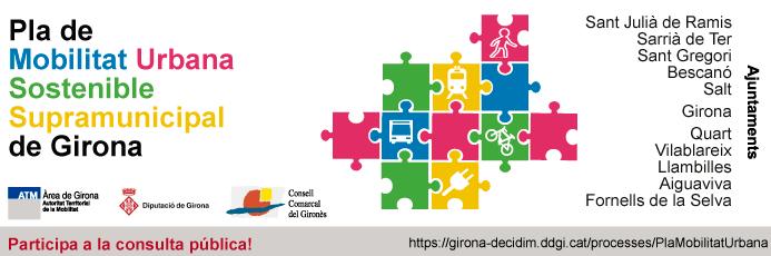 Pla de Mobilitat Urbana Sostenible Supramunicipal de Girona